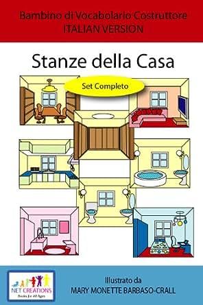 Stanze della casa rooms in the house set for Planimetrie della casa di gambrel