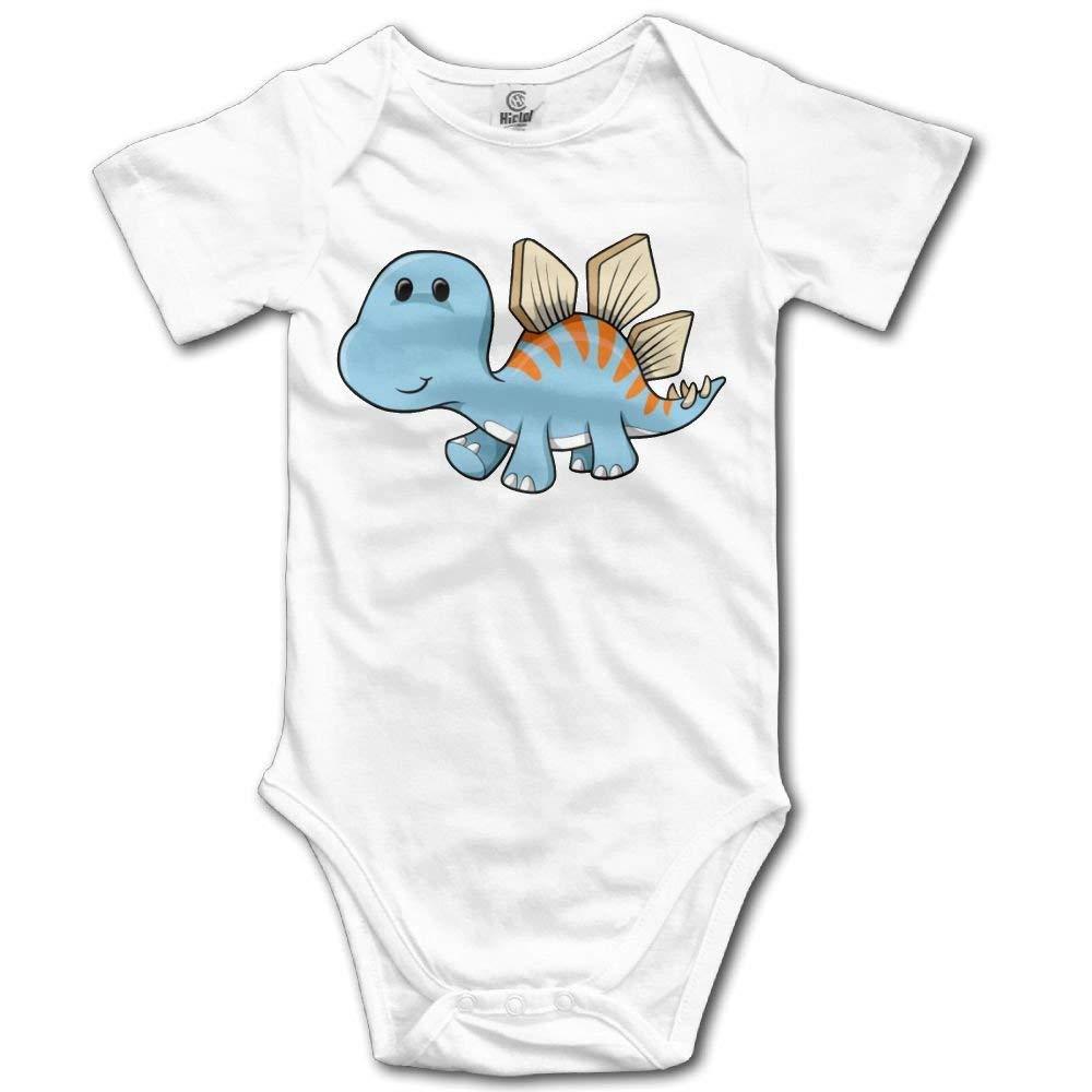 noerese Stegosaurus Dinosaur Newborn Baby Sleeveless Jumpsuit Romper
