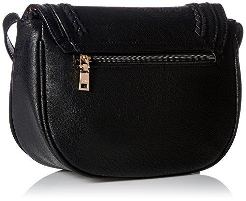 Black Women Satchel Bags with Weave Saddle Tote Crossbody for Bags Bags Shoulder t6wPBt