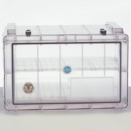 Bel-Art Secador Clear 4.0 Horizontal Profile Gas-Purge ...