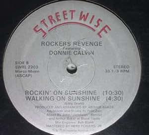 Rockers Revenge Walking On Sunshine RockinOn Sunshine