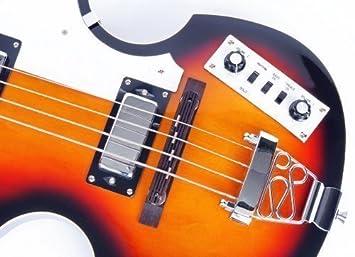 Violín, Beatles, bajo eléctrico BB2 SB de MPM (4260180883008) de Cherrystone: Amazon.es: Instrumentos musicales