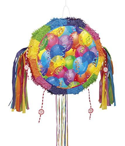 Brilliant Balloons Pinata, Pull String]()