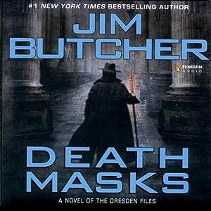 Amazon.com: Death Masks: The Dresden Files, Book 5 (Audible Audio Edition):  Jim Butcher, James Marsters, Penguin Audio: Books
