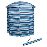 6.5' Portable Pool & Beach Cabana Sun Shelter with 50+ UV Protection and Carry Bag by Trademark Innovations