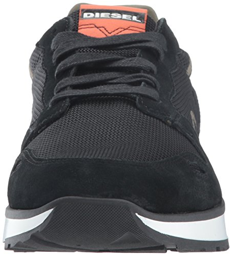 Diesel Mens Cortt Rv Sneaker Zwart / Sunset Orange