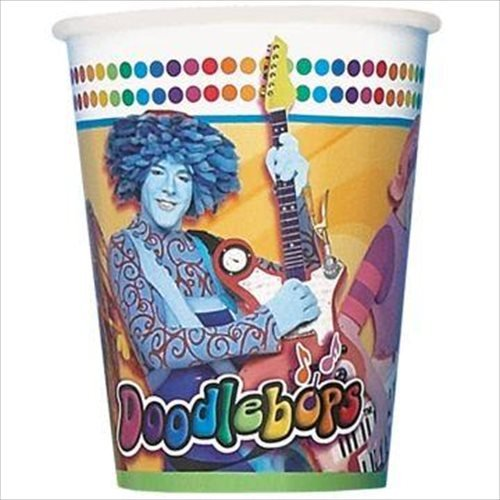 Doodlebops 9oz Paper Cups (8ct)