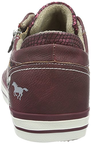 Mustang Basses 55 1146 Bordeaux Femme Baskets 301 Rouge SrSxgwq