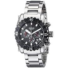 Jiusko Men's 52LSB02 Deep Sea Series Analog Display Quartz Silver Watch