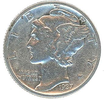 1937-P Mercury Dime Gem BU Uncirculated