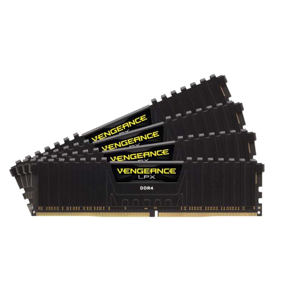 Corsair Vengeance LPX 16GB (2x8GB) DDR4 2666MHz C16 XMP 2.0 High Performance Desktop Arbeitsspeicher Kit, schwarz CMK16GX4M2A2666C16