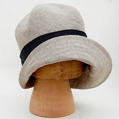 ZUT hats -French natural linen sun hat -ZUTceleste by ZUT hats - handmade hats from France