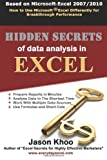 Hidden Secrets of Data Analysis in Excel, Jason Khoo, 1466296674