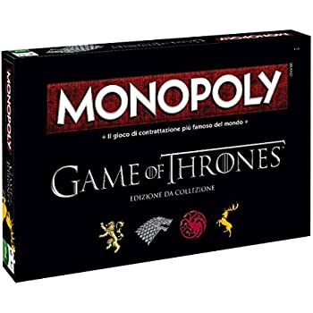 6d3c422c51e Monopoly Game of Thrones Collection, Italian Version Winning Moves