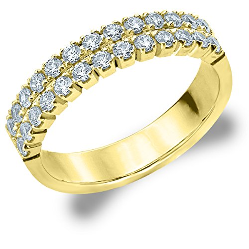 2 Row Ring for Women.50cttw Lab Grown Diamond Ring for sale  Delivered anywhere in USA