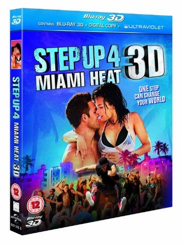 Step Up 4: Miami Heat (Blu-ray 3D + Blu-ray) [Blu-ray] (Region Free)