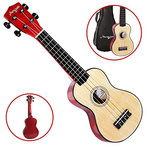 Martin Smith UK-222-A Soprano Ukulele, Natural