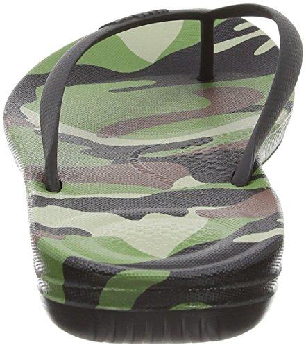 Camo Uomo Punta Iqushion Khaki Mix Fitflop Sandali 630 Aperta Green 5wOHqwX