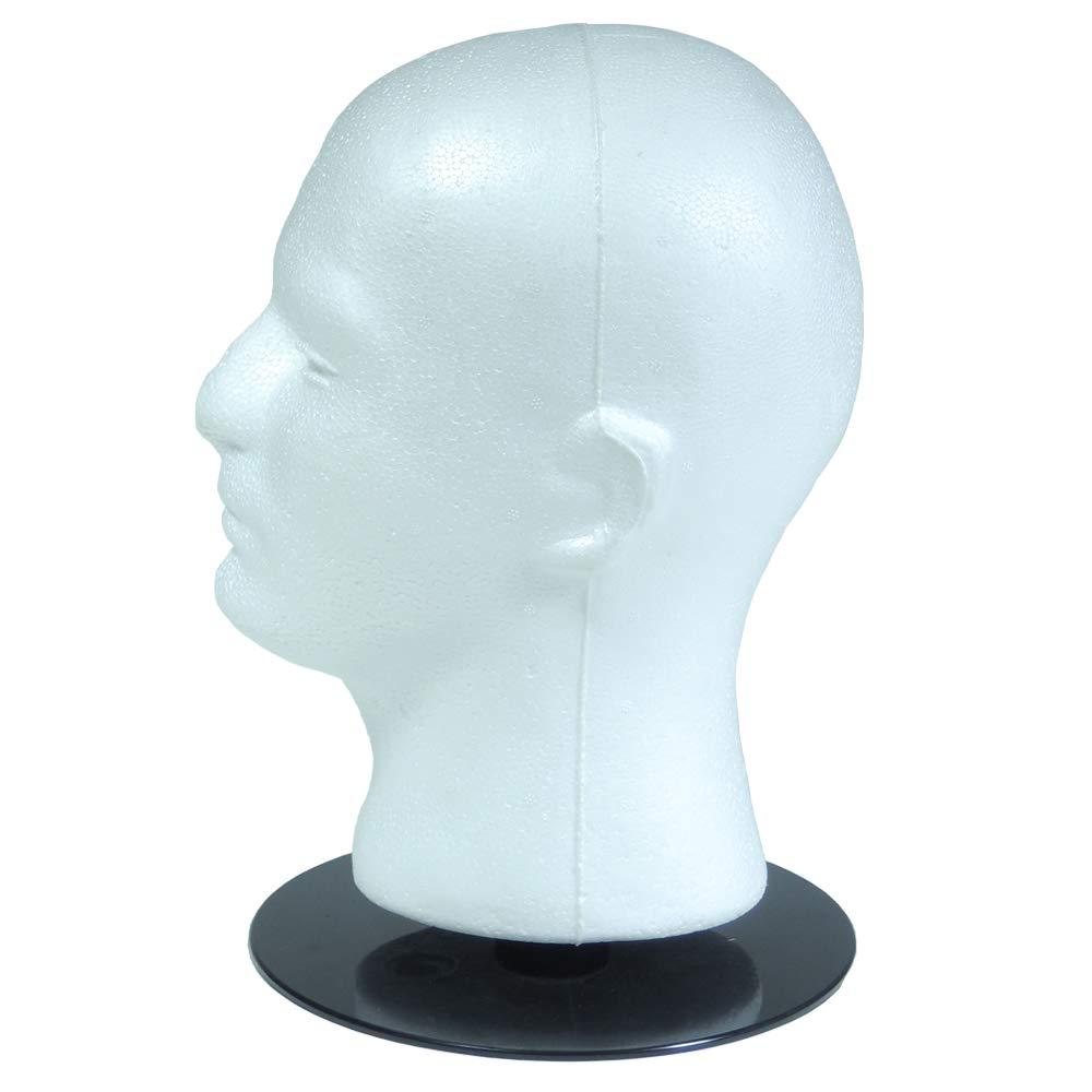 Mannequin head Hand Painted Hat Holder MANNIQ-HEDZ Jewelry Display Wig Holder