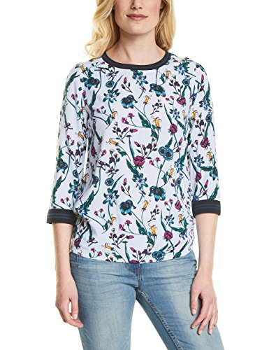 Cecil Donna White Off Multicolore pure Blusa 30125 rXqw5FrO6U