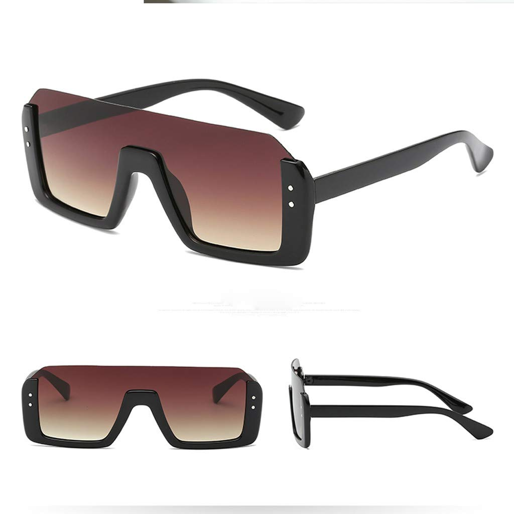 COGIGI Men Vintage Eye Sunglasses Retro Eyewear Fashion Radiation Protection