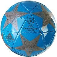 Adidas UCL Finale 16 Capitano - Balón de fútbol (Talla 5), Color Azul y Gris