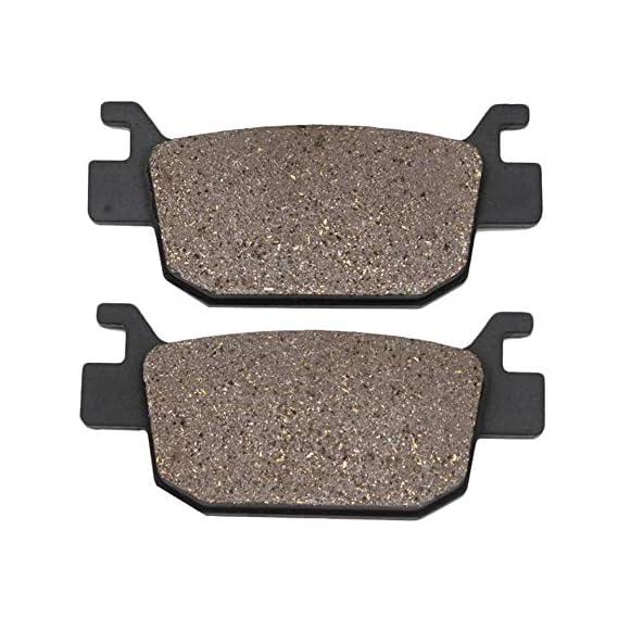 Open Throttle Racers FA 415 Semi-metallic Brake Pads, Suitable for Benelli TNT 300/302 (Black)
