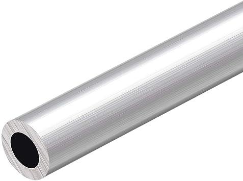 OLJF Ronda de Aluminio Longitud del Tubo de 500 mm de di/ámetro Interior sin Costuras 1Pcs,OD 48mm ID 38mm