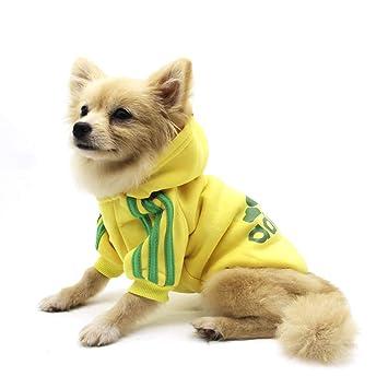 Sudadera con capucha QiCheng & LYS Adidog, para perros y gatos, con capucha