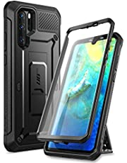 SUPCASE Unicorn Beetle Pro Series Designed for Huawei P30 Pro Case (2019 Release) Full-Body Dual Layer Rugged with Holster & Kickstand (Black)