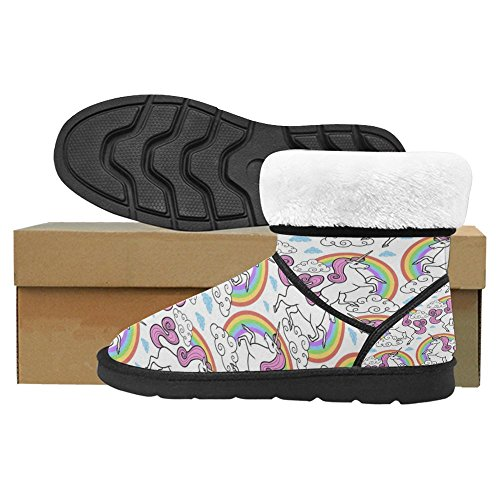 Scarponi Da Neve Womens Interestprint Stivali Invernali Comfort Dal Design Unico Multi 23