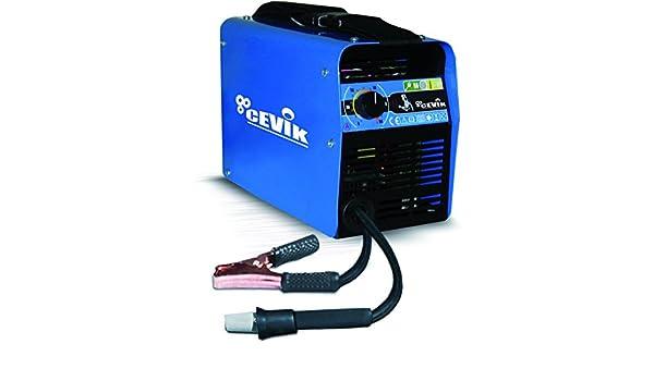 Cevik CE-SKI115 - Equipo de Soldadura 80 A. Electrodos de 1,6 a 2,50 mm. Con accesorios. Válido para Generador: Amazon.es: Bricolaje y herramientas