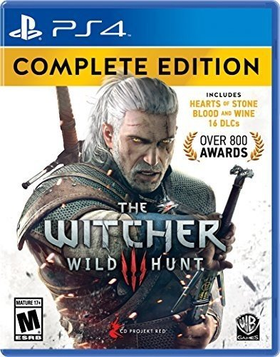 Witcher 3: Wild Hunt Complete Edition - PlayStation 4 Complete Edition