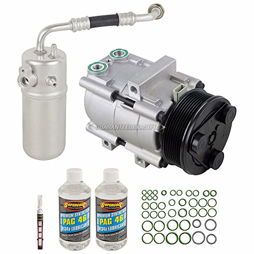 2002 Ford Expedition A/c - AC Compressor w/A/C Repair Kit For Ford Expedition Lincoln Navigator Blackwood 1997 1998 1999 2000 2001 2002 - BuyAutoParts 60-80183RK New