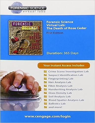 Amazon com: Bundle: Forensic Science Virtual CourseMaster