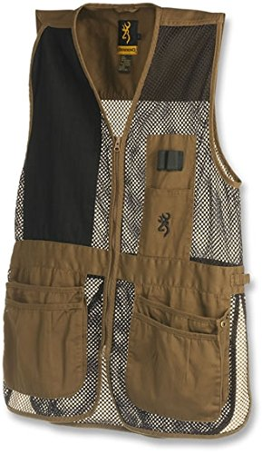 Browning Trapper Creek Vest, Clay/Black, ()