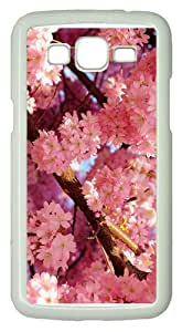 case fancy covercherry blossoms spring PC White case/cover for Samsung Galaxy Grand 2/7106