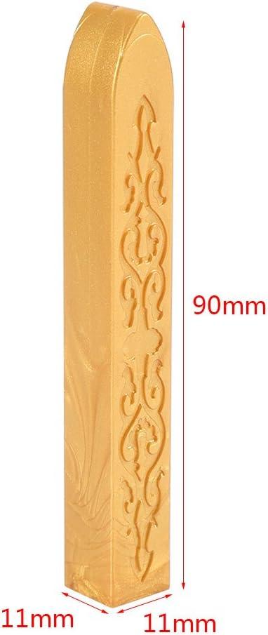 Sigillo Ceralacca Bianco Akozon 5 pz Sigillatura di Ceralacca per Manoscritto Artigianale Lettera Busta Artigianale Cera per Sigilli