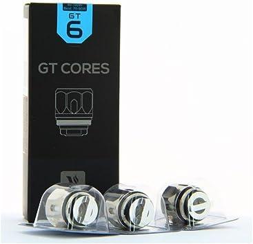 Pack de 3 resistencias de GT6 Núcleo 0.2 ohm NRG Vaporesso: Amazon ...