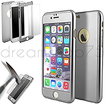 coque 360 iphone 7 gris