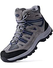 TFO Waterproof Hiking Boots for Men Breathable Non-Slip Work Boots for Trekking, Trails & Walking