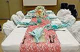 16 Tiffany Blue Satin Napkins for Dinner Party Birthday Dinner Bridal or Baby Shower or Wedding