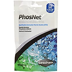 Seachem PhosNet Phosphate Silicate Remover Aquarium Filter Media, 50g