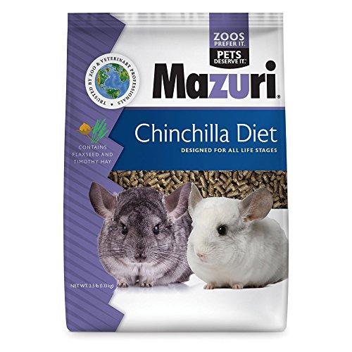 Mazuri Chinchilla Diet - 2.5 lb (Timothy Complete Chinchilla Food)