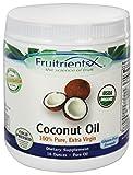Cheap FruitrientsX – Coconut Oil 100% Pure Extra Virgin – 16 oz