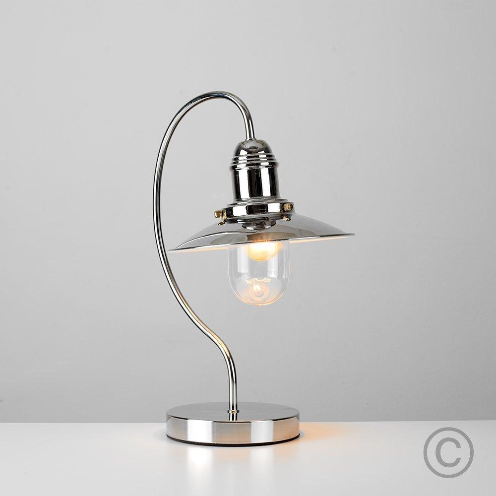 MiniSun - Lámpara mesa y mesilla de noche, con regulador de intensidad, modelo Farol