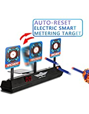 Yococobuy Electronic Scoring Target for Nerf N-Strike Elite/Mega/Rival Series Kids Toy Auto-Reset Intelligent Light Sound Effect Scoring Target for Mega and Rival Series