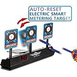 Ycocobuy Electronic Scoring Target for Nerf N-Strike Elite/Mega/Rival Series Kids Toy Auto-Reset Intelligent Light Sound Effect Scoring Target for Mega and Rival Series (Only Target)