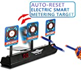 Ycocobuy Electronic Scoring Target for Nerf N-Strike Elite/Mega/Rival Series Kids Toy Auto-Reset Intelligent Light Sound Effect Scoring Target for Mega and Rival Series