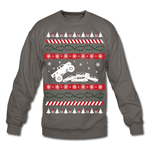 Ugly Christmas Monster Truck Sweatshirt